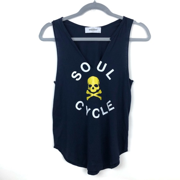 soulcycle Tops - Soul Cycle | Blue Sleeveless Tank Top Womens Small